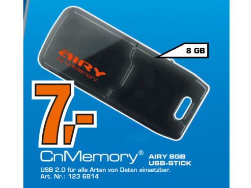 CnMemory Airy 8GB © Saturn