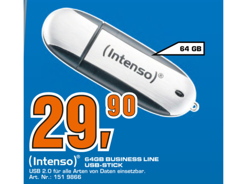 Intenso Business Line 64GB © Saturn