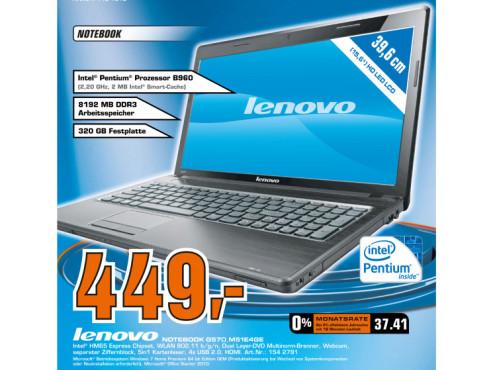 Lenovo G570_M51E4GE ©Saturn