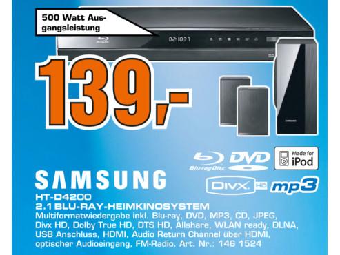 Samsung HT-D4200 ©Saturn