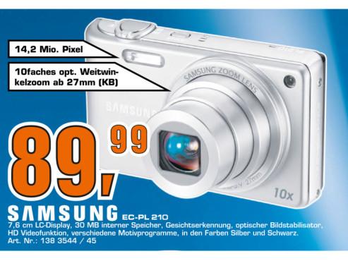 Samsung PL210 ©Saturn