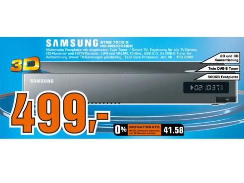 Samsung STB-E 7509S ©Saturn