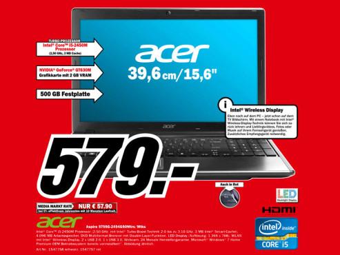 Acer Aspire 5755G-2454G50Mtrs/Mtks ©Media Markt