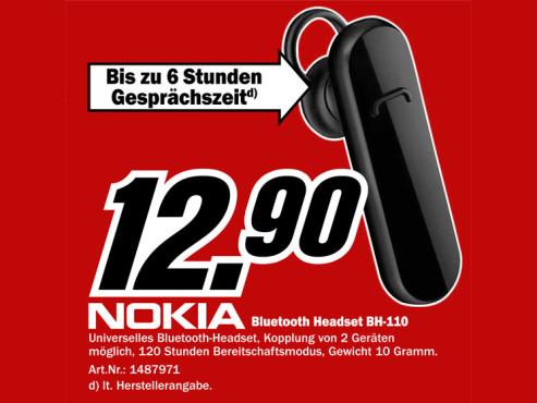 Nokia BH-110 ©Media Markt