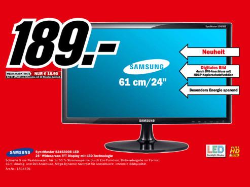 Samsung SyncMaster S24B300B ©Media Markt