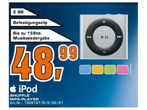Apple iPod Shuffle 2GB (4. Generation) ©Saturn