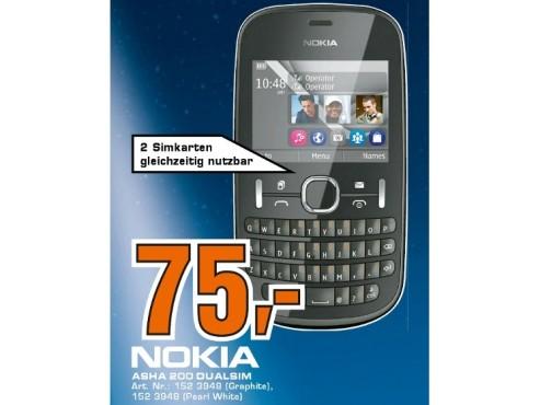 Nokia Asha 200 ©Saturn