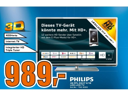Philips 46PFL5507K © Saturn