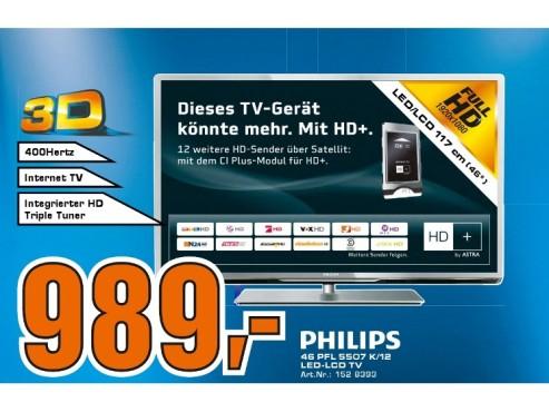 Philips 46PFL5507K ©Saturn