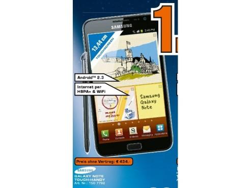 Samsung Galaxy Note ©Saturn