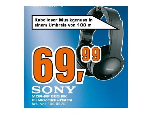 Sony MDR-RF865RK ©Saturn