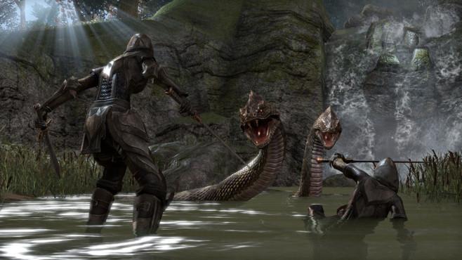 The Elder Scrolls Online: Schlangen ©Zenimax