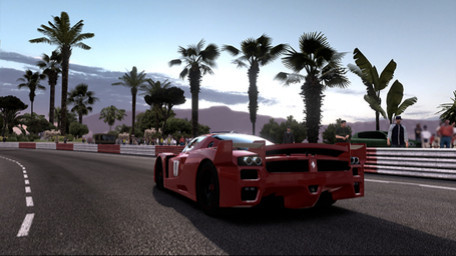 Rennspiel Test Drive – Ferrari Racing Legends: Palmen © Bigben Interactive