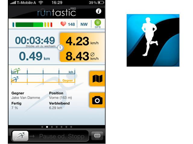 zehn sport apps im test bilder screenshots computer bild. Black Bedroom Furniture Sets. Home Design Ideas