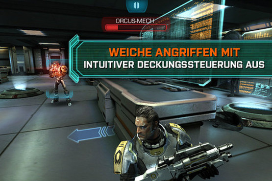 Actionspiel Mass Effect – Infiltrator: Deckung © Electronic Arts