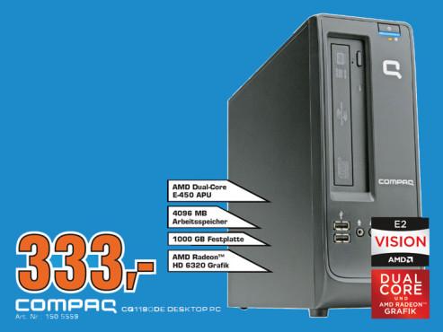 Compaq CQ1180DE Desktop PC ©Saturn