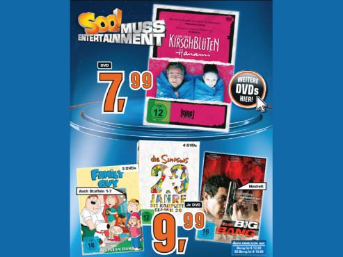Diverse DVDs ©Saturn