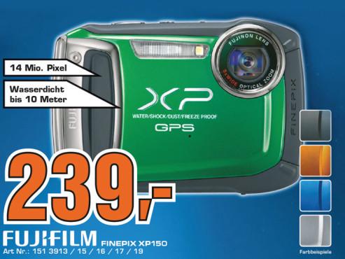 Fujifilm FinePix XP150 ©Saturn