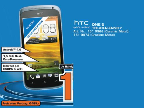 HTC One S ©Saturn
