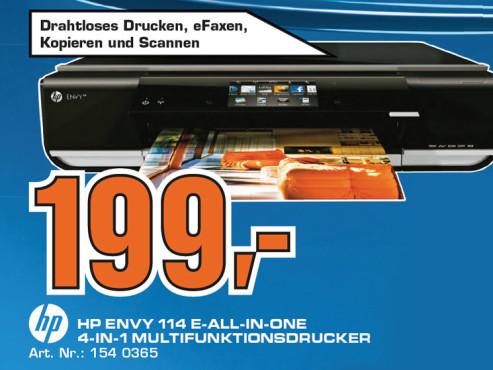 Hewlett-Packard HP Envy 114 (D411c) ©Saturn