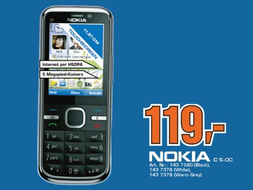 Nokia C5-5MP ©Saturn