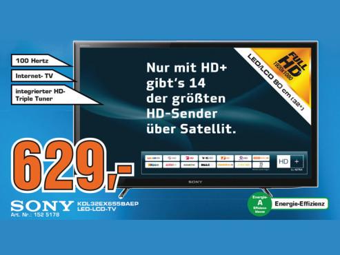 Sony KDL-32EX655 ©Saturn