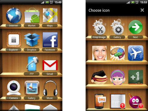 Screenshot Apps Shelf © COMPUTER BILD