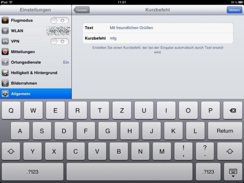 Screenshot iPad © COMPUTER BILD