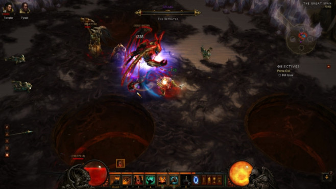 Diablo 3: Plan © Blizzard