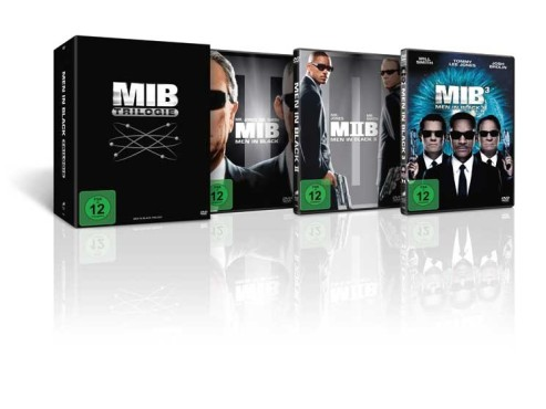 DVD-Box Men in Black © Tchibo