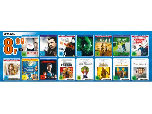 Diverse Blu-rays ©Saturn