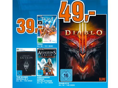 Diverse PC-Spiele ©Saturn