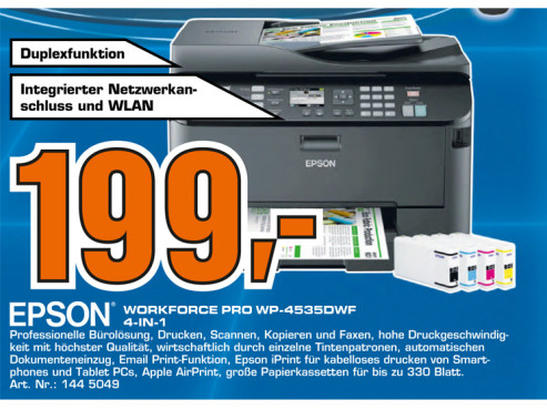 Epson WorkForce Pro WP-4535 DWF © Saturn