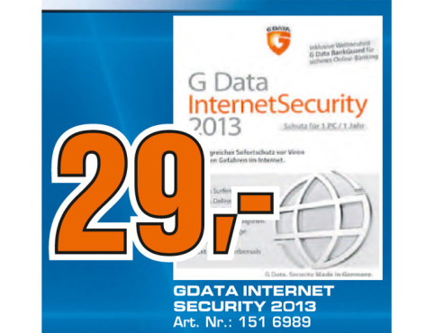 G Data Internet Security 2013 © Saturn