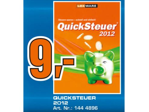 Lexware Quicksteuer 2012 (DE) ©Saturn