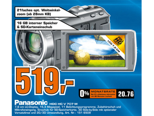 Panasonic V707 © Saturn