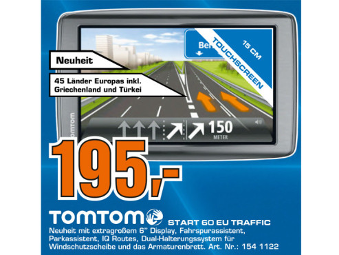 TomTom Start 60 EU © Saturn