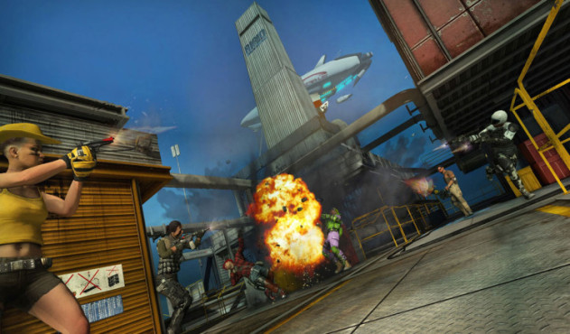 Online-Actionspiel Bullet Run: Explosion © Sony Online Entertainment