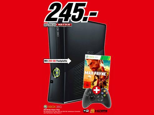 Microsoft Xbox 360 S 250GB ©Media Markt