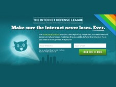 Screenshot Internet Defense League Website © COMPUTER BILD