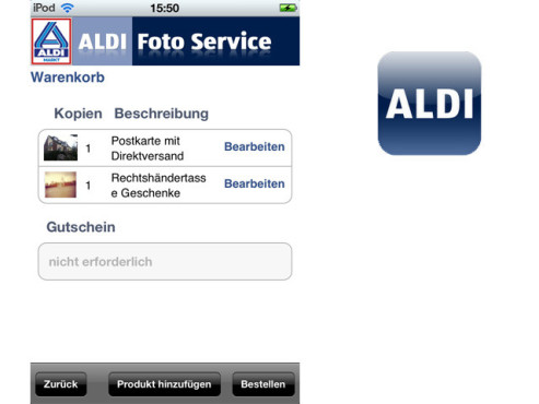 Aldi Photo App ©Medion