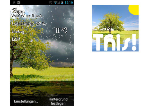 This! Weather Live Wallpaper © PatzAPPs