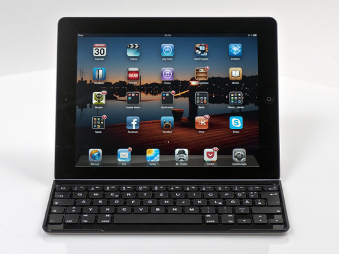 Logitech Ultrathin Keyboard Cover for iPad © COMPUTER BILD