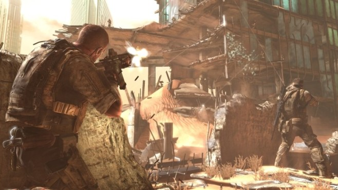 Actionspiel Spec Ops � The Line: Sand ©Take-Two