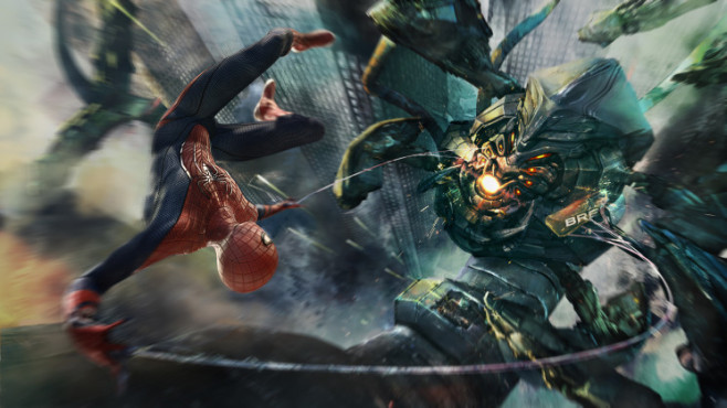 Actionspiel The Amazing Spider-Man: Kampf ©Activision