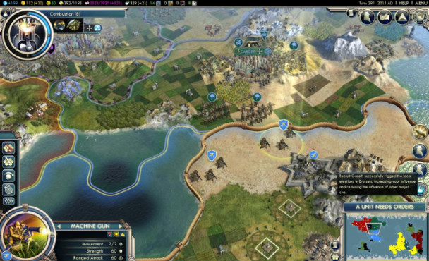 Strategiespiel Civilization 5 – Gods & Kings: Felder © Take-Two