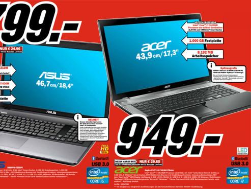 Acer Aspire V3-771G-73618G1TMakk (NX.M0SEG.001) ©Media Markt