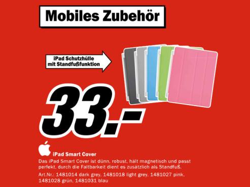 Apple Smart Cover f�r iPad 2 & 3 ©Media Markt
