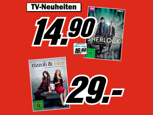 DVD-Serienboxen ©Media Markt