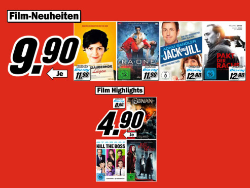 Film-DVDs © Media Markt